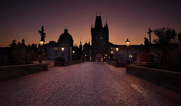 Photograph - Good Morning Prague  by Jaroslaw Blaminsky