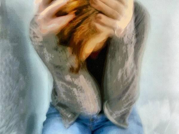 Depressed Digital Art - Good Morning World by Gun Legler