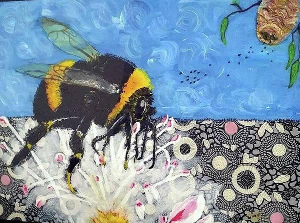 Nectar Mixed Media - Good Nectar by Julie Anne Muir