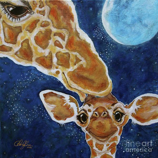 Framing Painting - Good Night Kiss by Cheryl Rose
