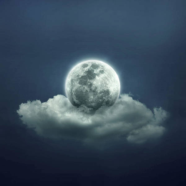 Cloud Digital Art - Good Night by Zoltan Toth