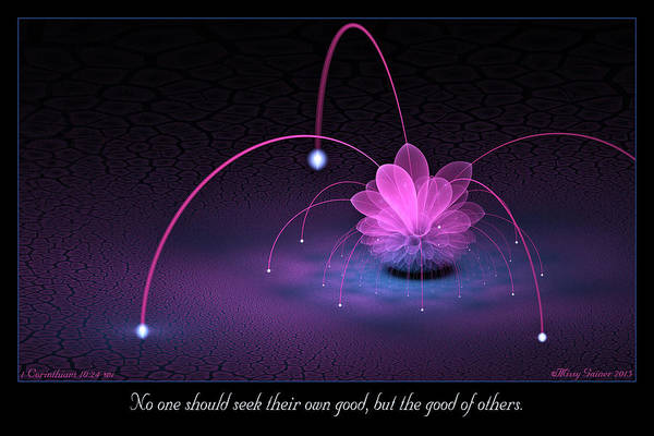Digital Art - Good Of Others by Missy Gainer