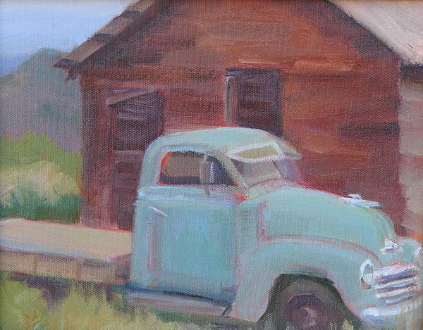 Wall Art - Painting - Good Old Days by Sylvia Carlton