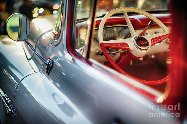 Manual Focus Wall Art - Photograph - Good Old Times With A Chevy Pick Up by George Oze