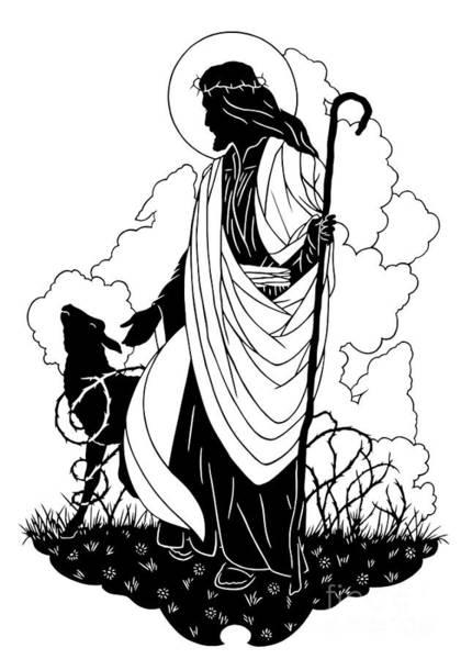 Good Shepherd - Dpgsh Art Print