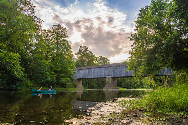 Pa Photograph - Good To Canoe by Kristopher Schoenleber