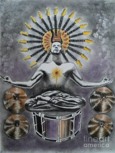 Meditation Drawing - Good Vibrations by Carla Carson