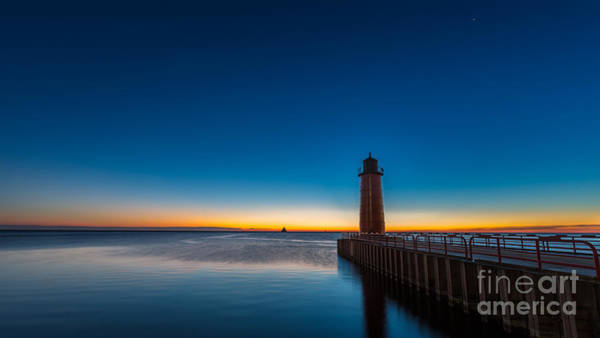 Mke Photograph - Goodbye Night by Andrew Slater