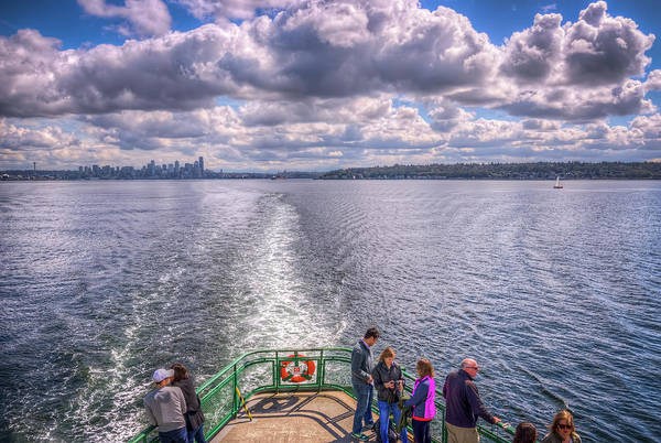 Wall Art - Photograph - Goodbye Seattle by Spencer McDonald