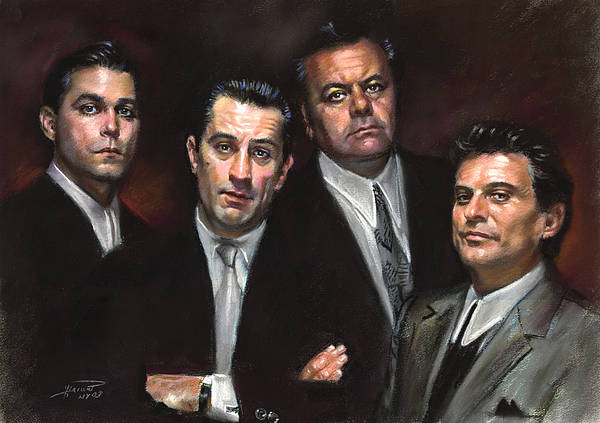 Wall Art - Pastel - Goodfellas by Ylli Haruni