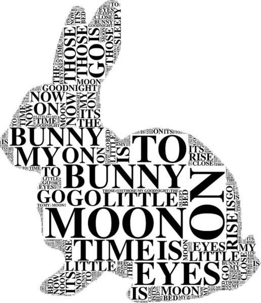 Digital Art - Goodnight My Bunny by Alice Gipson