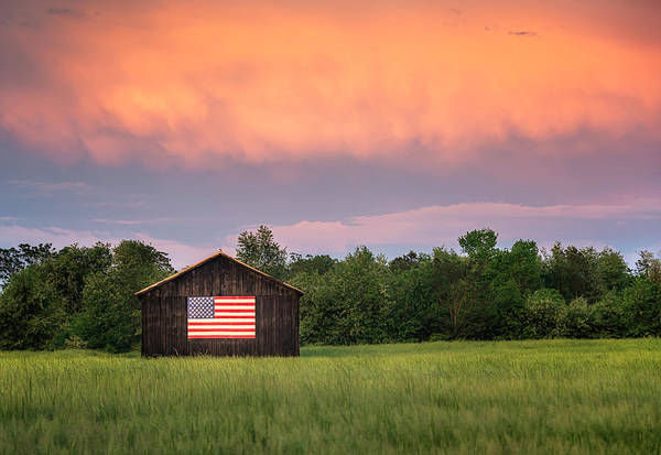 Photograph - Goodnight America by Ryan Wyckoff