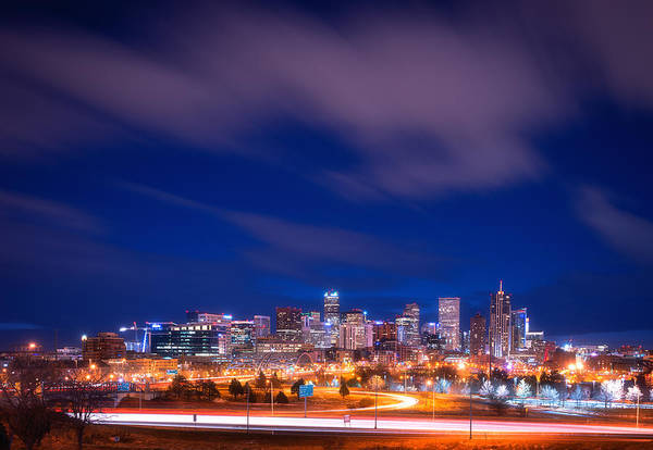 Photograph - Goodnight Denver by Darren  White
