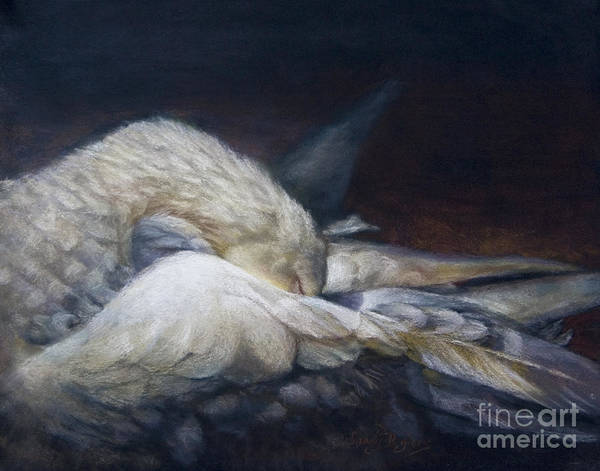 Skagit Valley Painting - Goodnight Grace by Sandy Byers
