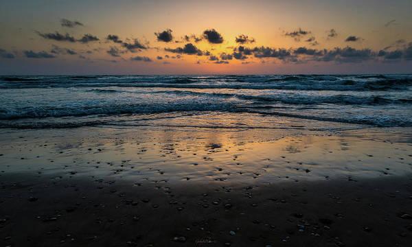 Photograph - Goodnight Sea by Gabriel Israel