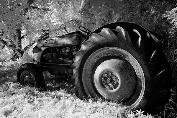 Wall Art - Photograph - Goodnight Tractor by Luke Moore