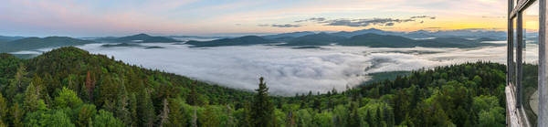 Photograph - Goodnow Mountain Panorama by Brad Wenskoski