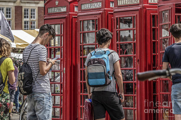 Photograph - Google Says It's A Telephone Box. by Nigel Dudson