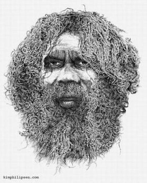 Aborigine Painting - Goomblair by Kim Philipsen