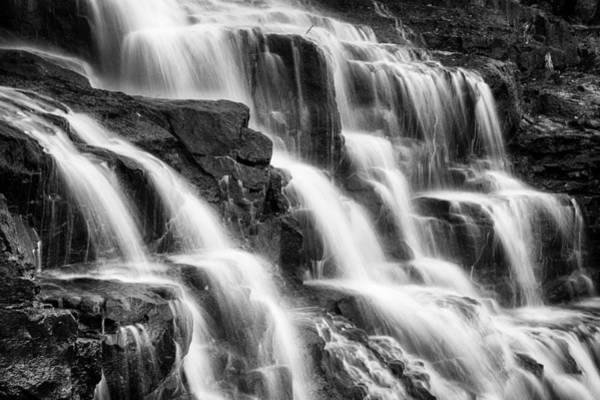 Photograph - Goosebeery Falls by CA  Johnson