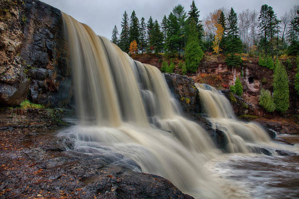 Photograph - Gooseberry Falls by CA Johnson