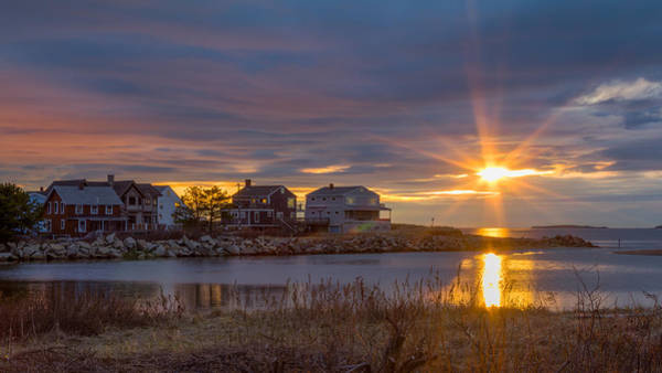 Photograph - Goosefare Brook Sunrise - Saco Maine by Kirkodd Photography Of New England
