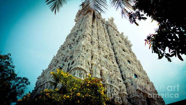 Photograph - Gopuram Suchindram Temple India by Raimond Klavins