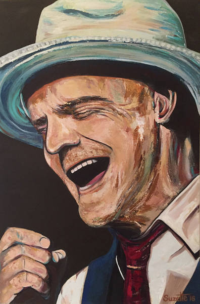Rockstar Painting - Gord Downie by Suzette Castro