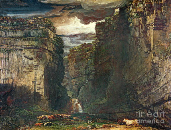 Ward Painting - Gordale Scar by James Ward