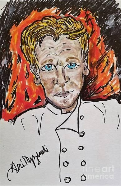 Hells Kitchen Wall Art - Mixed Media - Gordon Ramsay Hell's Kitchen by Geraldine Myszenski