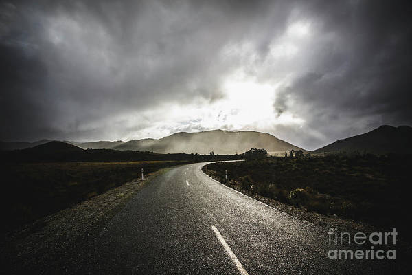 Atmospheric Photograph - Gordon River Road by Jorgo Photography - Wall Art Gallery