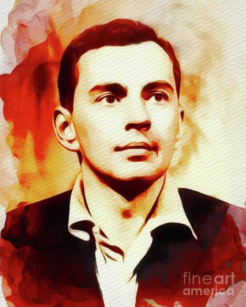 Poetry Painting - Gore Vidal, Literary Legend by John Springfield