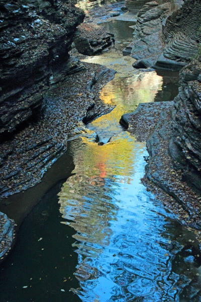 Photograph - Gorge Abstract by Jessica Jenney