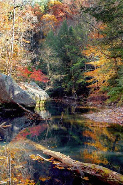 Photograph - Gorge Boulders 3 by Sam Davis Johnson