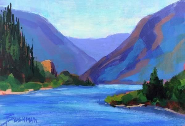 Gorge Classic Art Print by Laurel Bushman