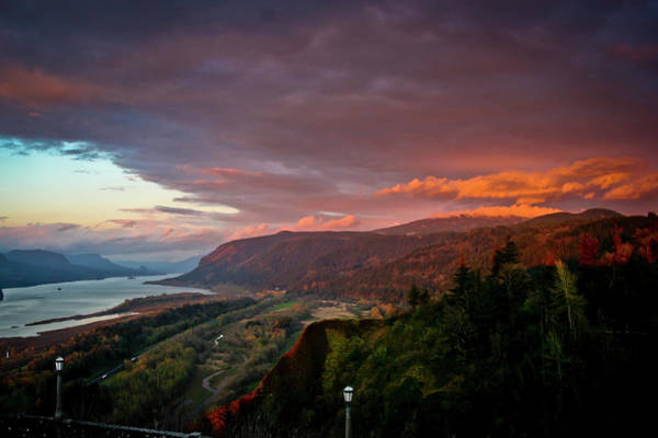 Photograph - Gorge Sunset by Albert Seger