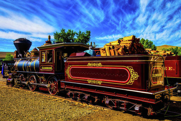 Loco Wall Art - Photograph - Gorgeous Glenbrook Gingerbread Train by Garry Gay