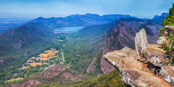 Photograph - Gorgeous Grampians   Panorama by Ray Warren