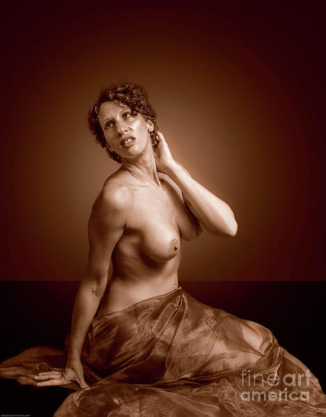 Photograph - Gorgeous Nude. by Nigel Dudson