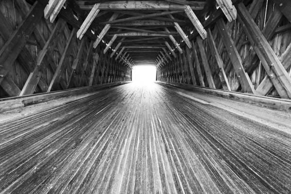 Wall Art - Photograph - Gorham Covered Bridge by Dave Schmidt
