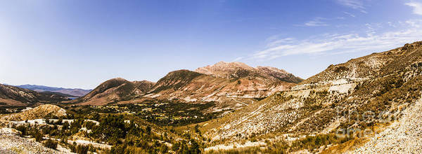 Wall Art - Photograph - Gormanston Tasmania Mountain Panorama by Jorgo Photography - Wall Art Gallery