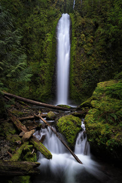 Photograph - Gorton Creek Falls by Brian Bonham
