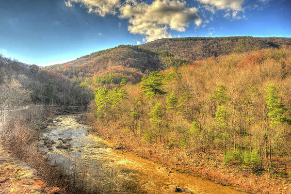 Photograph - Goshen Pass In Late Fall by Don Mercer