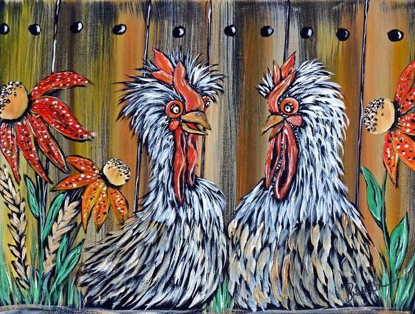 Priceless Painting - Gossip Girls by Char Benson Arts