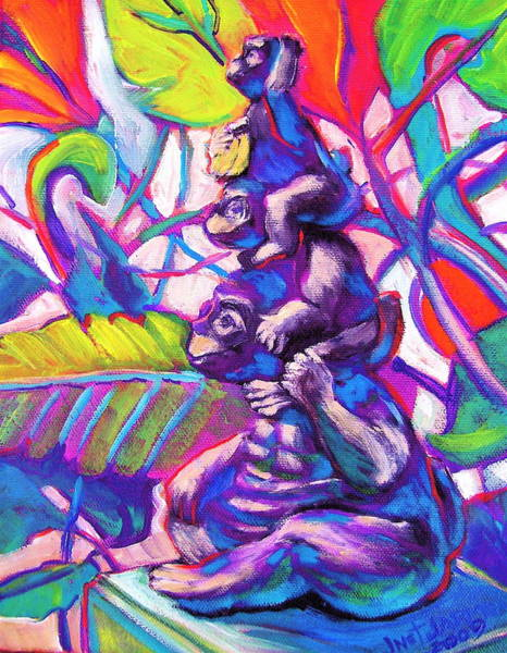 Painting - Got A Banana by Jeanette Jarmon