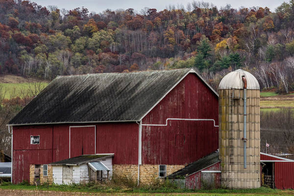 Wall Art - Photograph - Got Milk Barn by Paul Freidlund