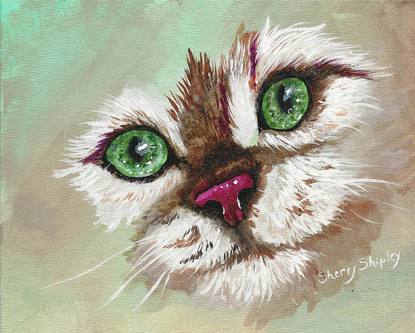 Painting - Got Treats? by Sherry Shipley