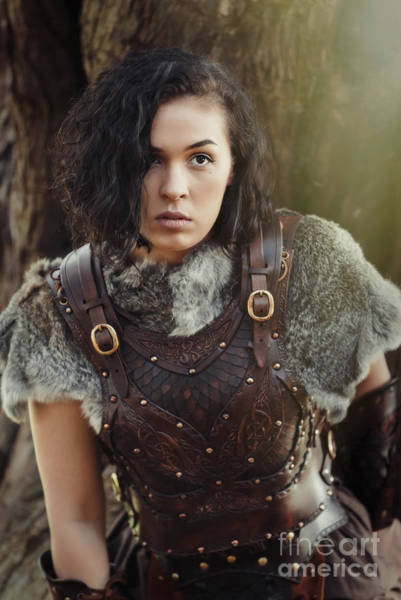 Game Of Thrones Photograph - Got Warrior Princess by Amanda Elwell