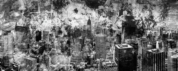 Wall Art - Photograph - Gotham Castles by Az Jackson