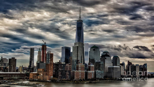 Photograph - Gotham Nyc Blue by Alissa Beth Photography